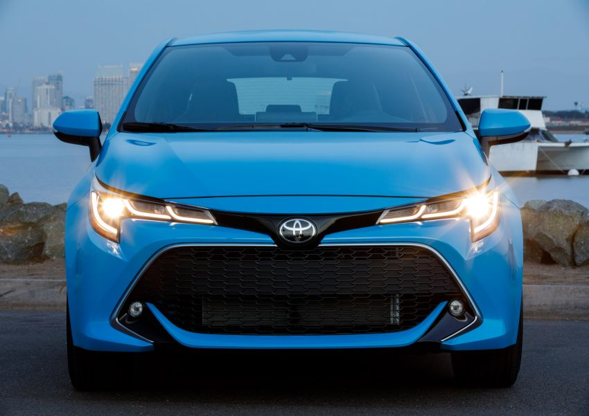 GALERI: Toyota Corolla Hatchback 2019 untuk US Image #814290
