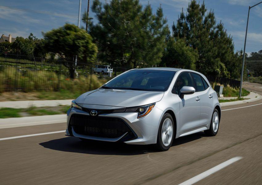 GALERI: Toyota Corolla Hatchback 2019 untuk US Image #814242