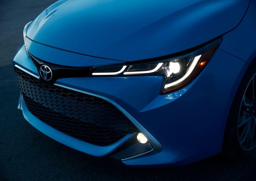 GALERI: Toyota Corolla Hatchback 2019 untuk US Image #814328