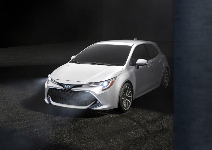 GALERI: Toyota Corolla Hatchback 2019 untuk US Image #814329