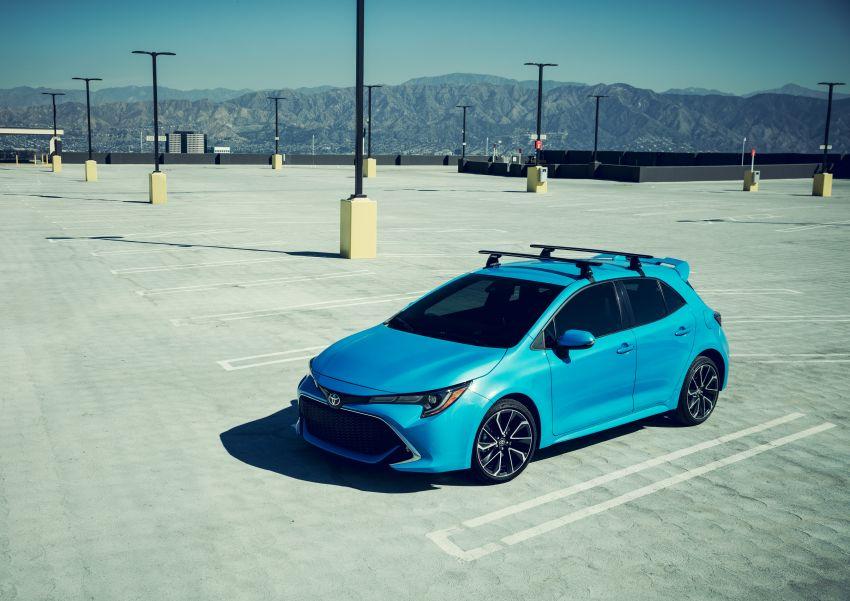 GALERI: Toyota Corolla Hatchback 2019 untuk US Image #814339