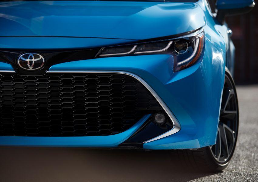 GALERI: Toyota Corolla Hatchback 2019 untuk US Image #814341
