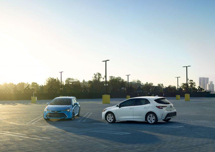 GALERI: Toyota Corolla Hatchback 2019 untuk US Image #814343