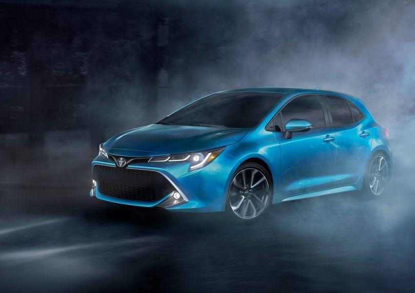 GALERI: Toyota Corolla Hatchback 2019 untuk US Image #814345