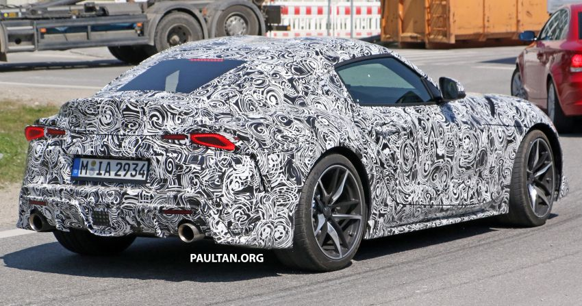 SPYSHOTS: 2019 Toyota Supra – our clearest view yet Image #813976