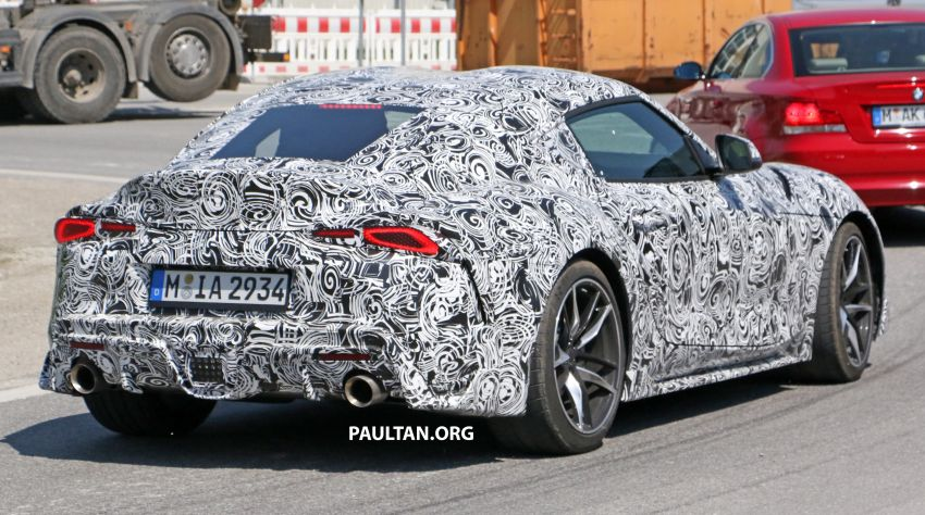 SPYSHOTS: 2019 Toyota Supra – our clearest view yet Image #813979