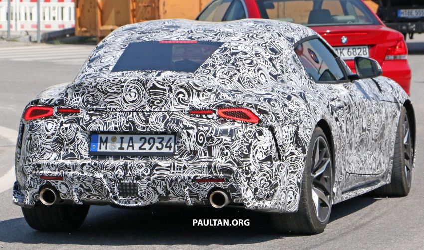 SPYSHOTS: 2019 Toyota Supra – our clearest view yet Image #813982