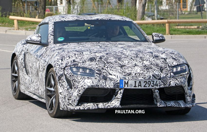 SPYSHOTS: 2019 Toyota Supra – our clearest view yet Image #813955