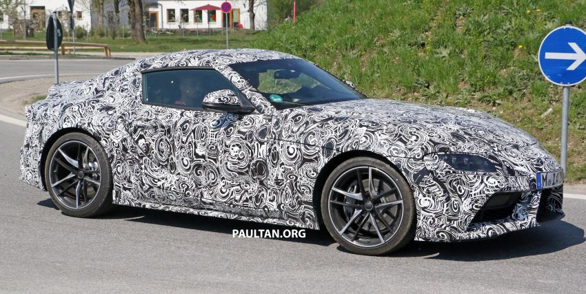 SPYSHOTS: 2019 Toyota Supra – our clearest view yet Image #813961