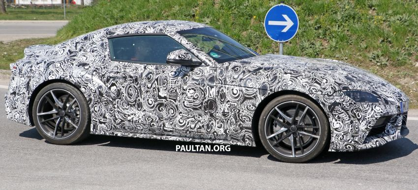 SPYSHOTS: 2019 Toyota Supra – our clearest view yet Image #813966