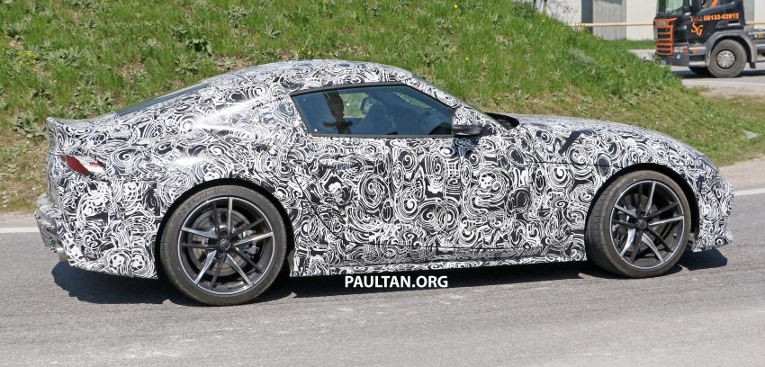SPYSHOTS: 2019 Toyota Supra – our clearest view yet Image #813971