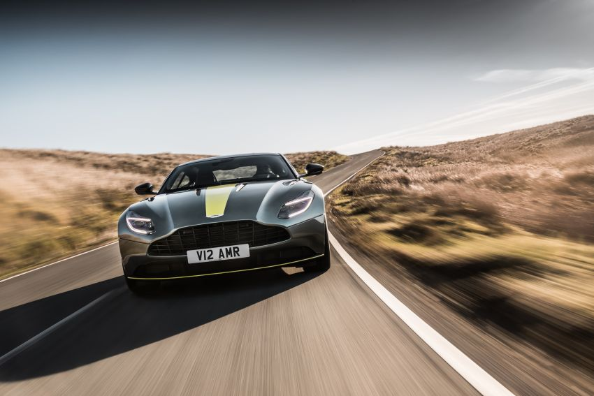 Aston Martin DB11 AMR – new 639 PS V12 flagship Image #816676
