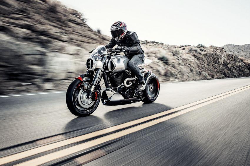 Arch Motorcycles Method 143 – casis gentian karbon Image #817636