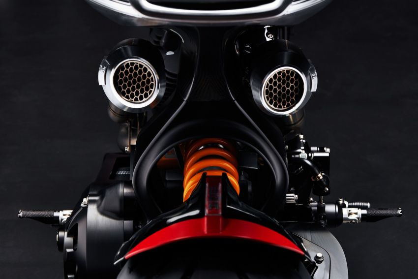 Arch Motorcycles Method 143 – casis gentian karbon Image #817628