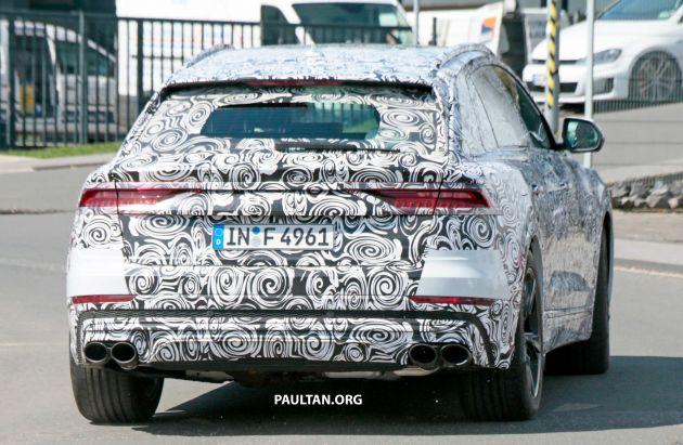 Spyshots Audi Rs Q8 Cousin To The Lambo Urus