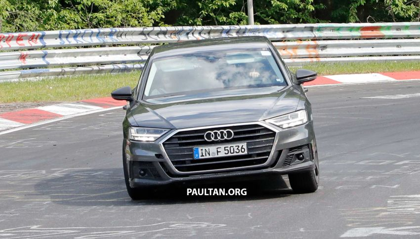 SPYSHOTS: 2019 Audi S8 spotted at the Nurburgring Image #820569
