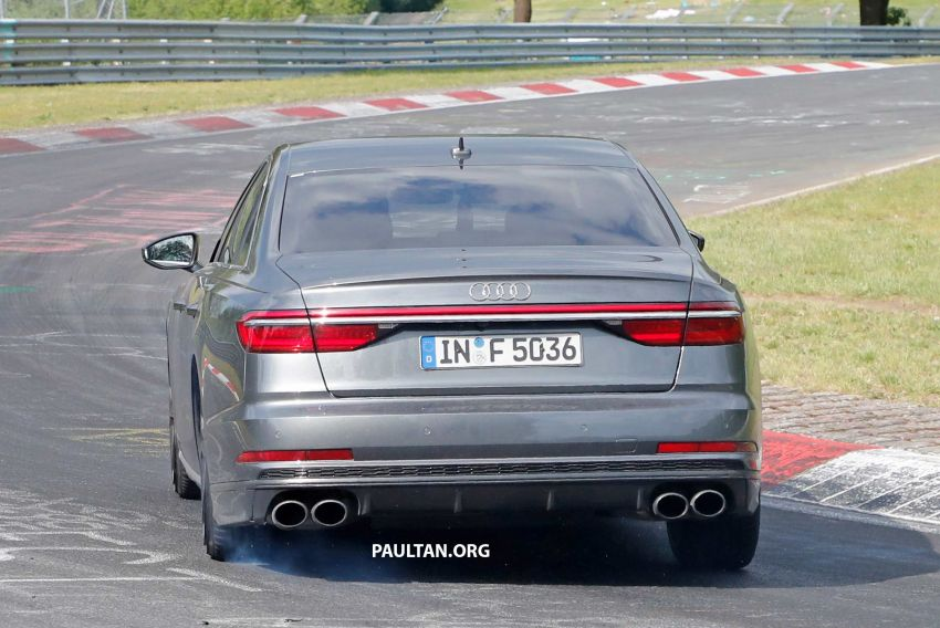SPYSHOTS: 2019 Audi S8 spotted at the Nurburgring Image #820579