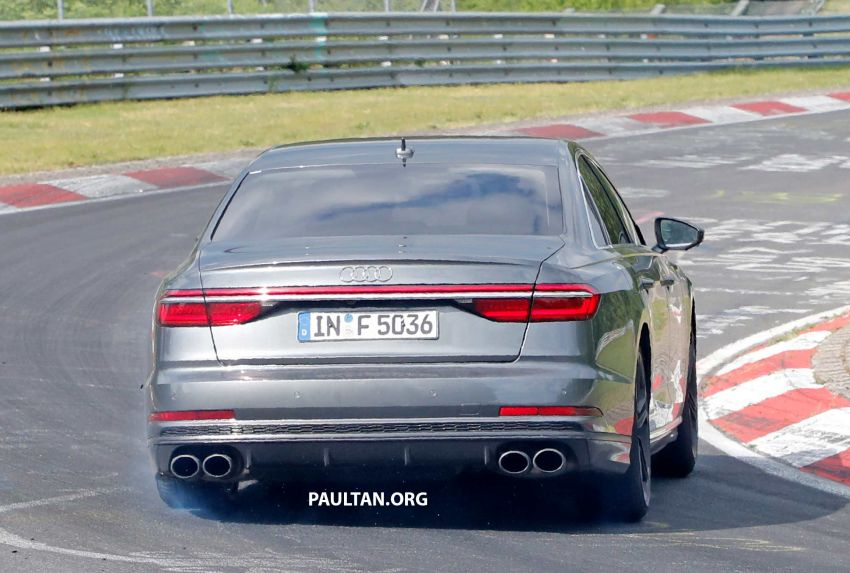 SPYSHOTS: 2019 Audi S8 spotted at the Nurburgring Image #820580
