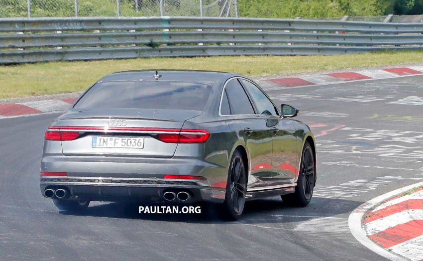 SPYSHOTS: 2019 Audi S8 spotted at the Nurburgring Image #820581