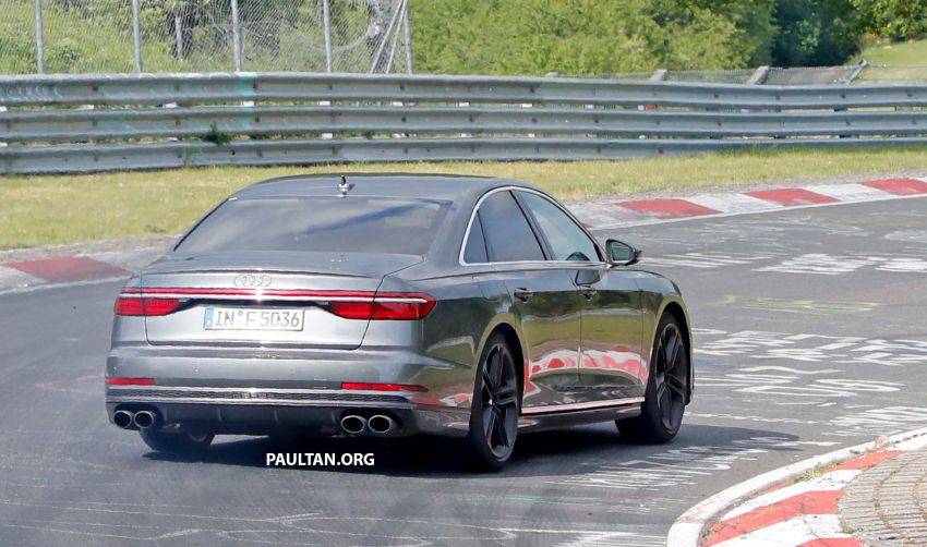 SPYSHOTS: 2019 Audi S8 spotted at the Nurburgring Image #820582