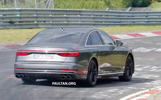 Spyshots 2019 Audi S8 Spotted At The Nurburgring