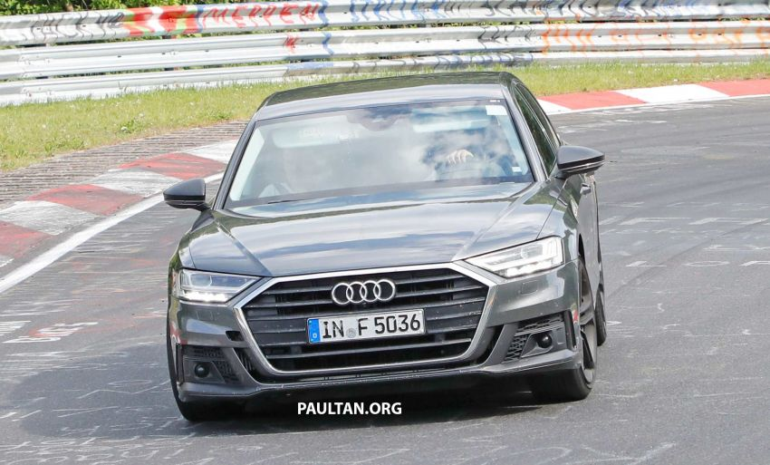 SPYSHOTS: 2019 Audi S8 spotted at the Nurburgring Image #820570