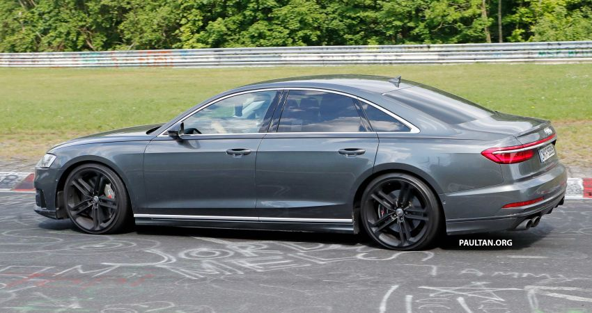 SPYSHOTS: 2019 Audi S8 spotted at the Nurburgring Image #820576