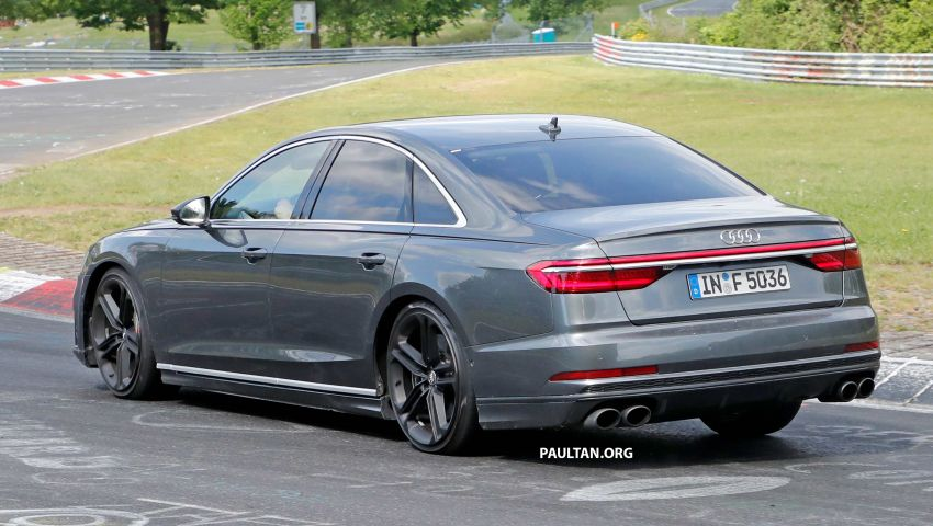 SPYSHOTS: 2019 Audi S8 spotted at the Nurburgring Image #820577