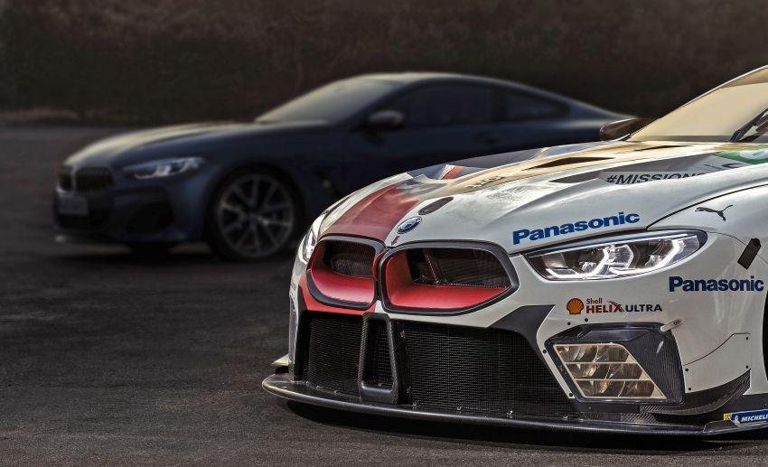 BMW 8 Series shown in teaser, June 15 Le Mans debut Image #817667