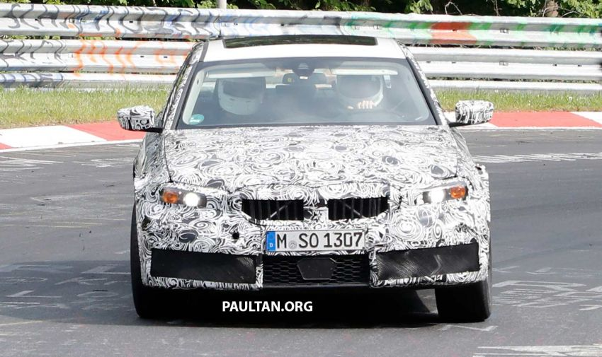 SPYSHOTS: G80 BMW M3 spotted testing at the 'Ring Image #818515