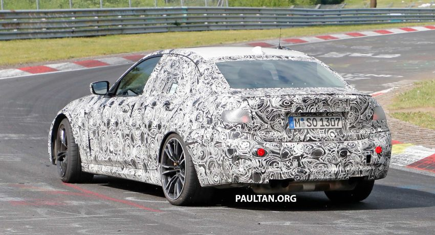 SPYSHOTS: G80 BMW M3 spotted testing at the 'Ring Image #818527