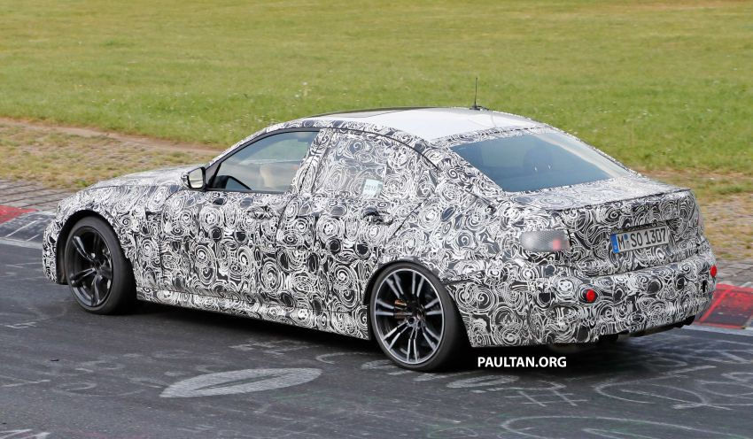 SPYSHOTS: G80 BMW M3 spotted testing at the 'Ring Image #818532