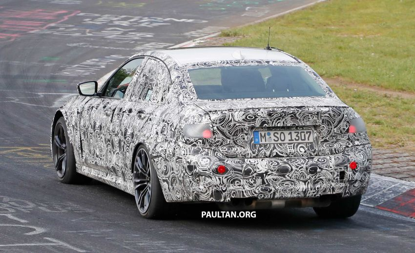 SPYSHOTS: G80 BMW M3 spotted testing at the 'Ring Image #818533
