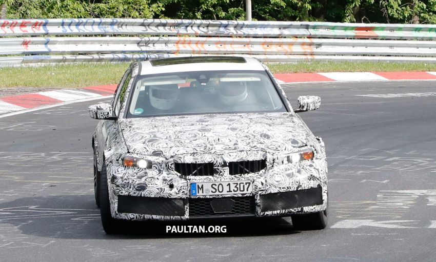 SPYSHOTS: G80 BMW M3 spotted testing at the 'Ring Image #818516