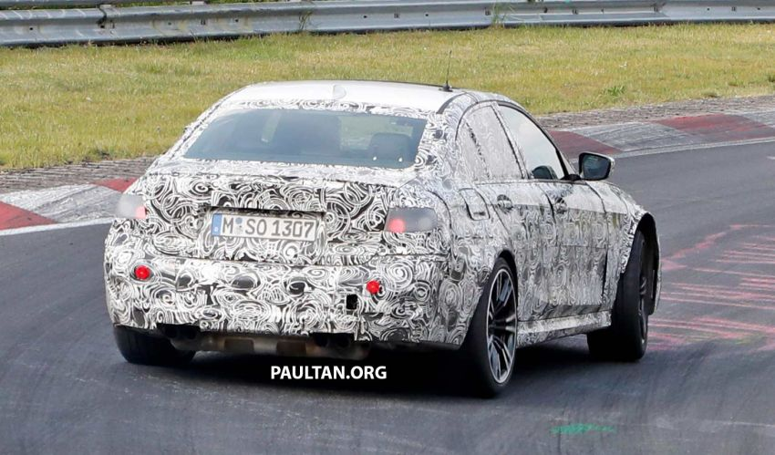 SPYSHOTS: G80 BMW M3 spotted testing at the 'Ring Image #818541