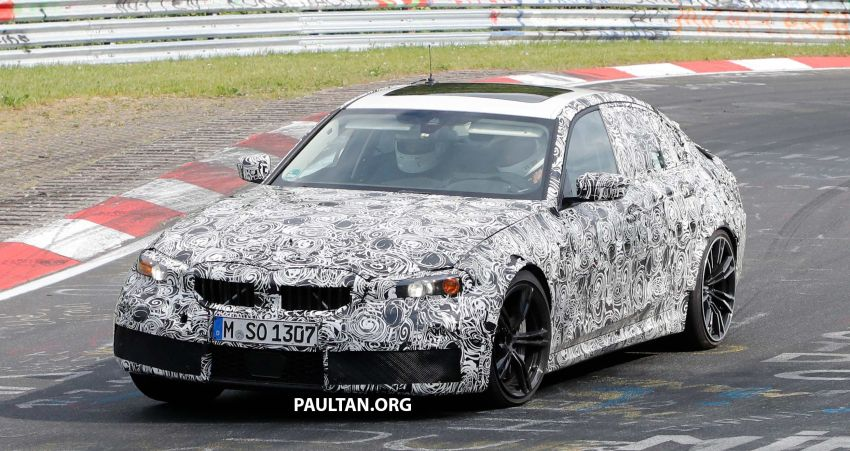 SPYSHOTS: G80 BMW M3 spotted testing at the 'Ring Image #818517