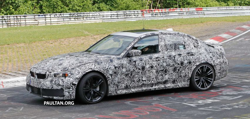SPYSHOTS: G80 BMW M3 spotted testing at the 'Ring Image #818518