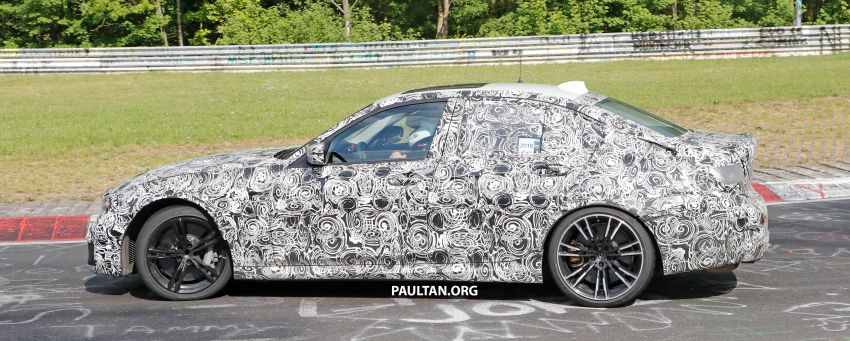 SPYSHOTS: G80 BMW M3 spotted testing at the 'Ring Image #818519