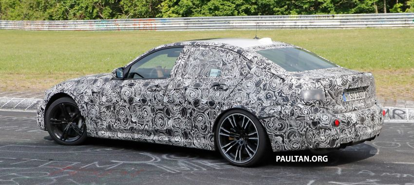 SPYSHOTS: G80 BMW M3 spotted testing at the 'Ring Image #818521