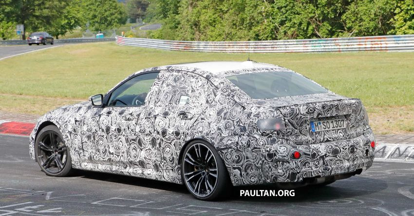 SPYSHOTS: G80 BMW M3 spotted testing at the 'Ring Image #818523