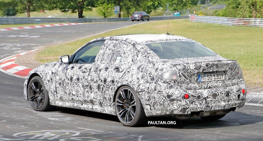 SPYSHOTS: G80 BMW M3 spotted testing at the 'Ring Image #818525
