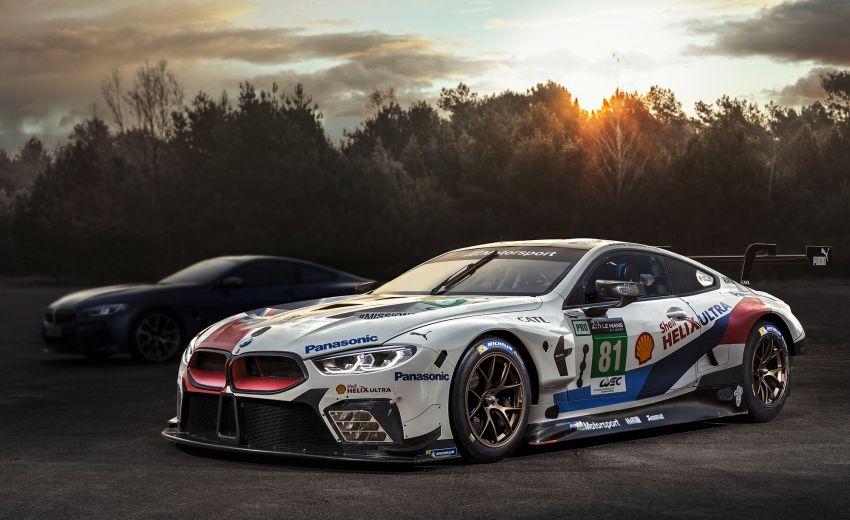 BMW 8 Series shown in teaser, June 15 Le Mans debut Image #817668
