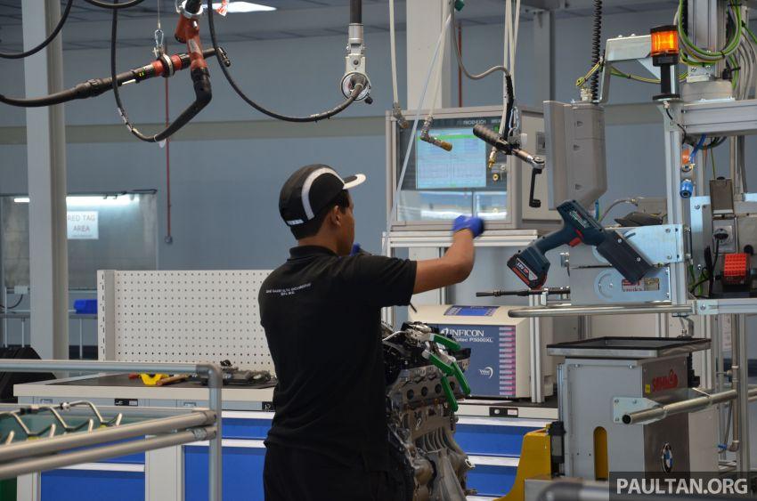 BMW officially opens Kulim engine assembly plant – RM132mil facility by Sime Darby Auto Engineering Image #814763