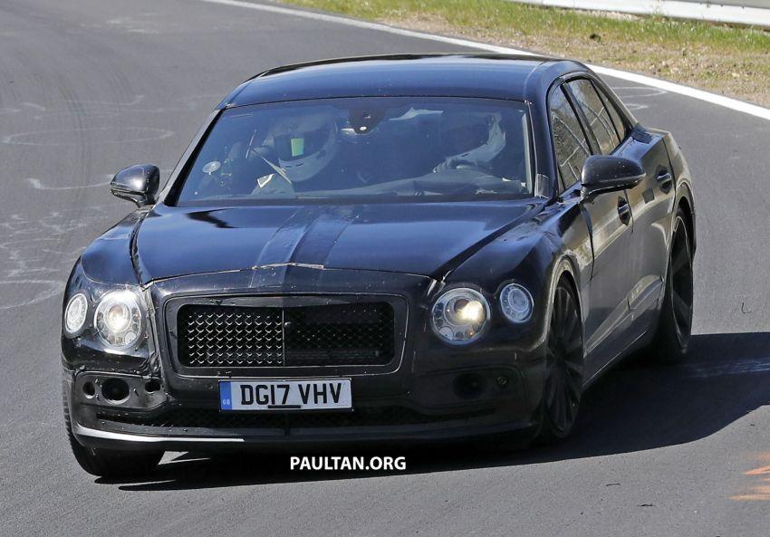 SPYSHOTS: 2019 Bentley Flying Spur caught again Image #815445