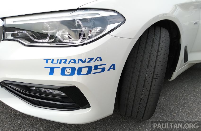 Bridgestone Turanza T005A touring tyre launched – comfort above all, but with performance in reserve Image #822509