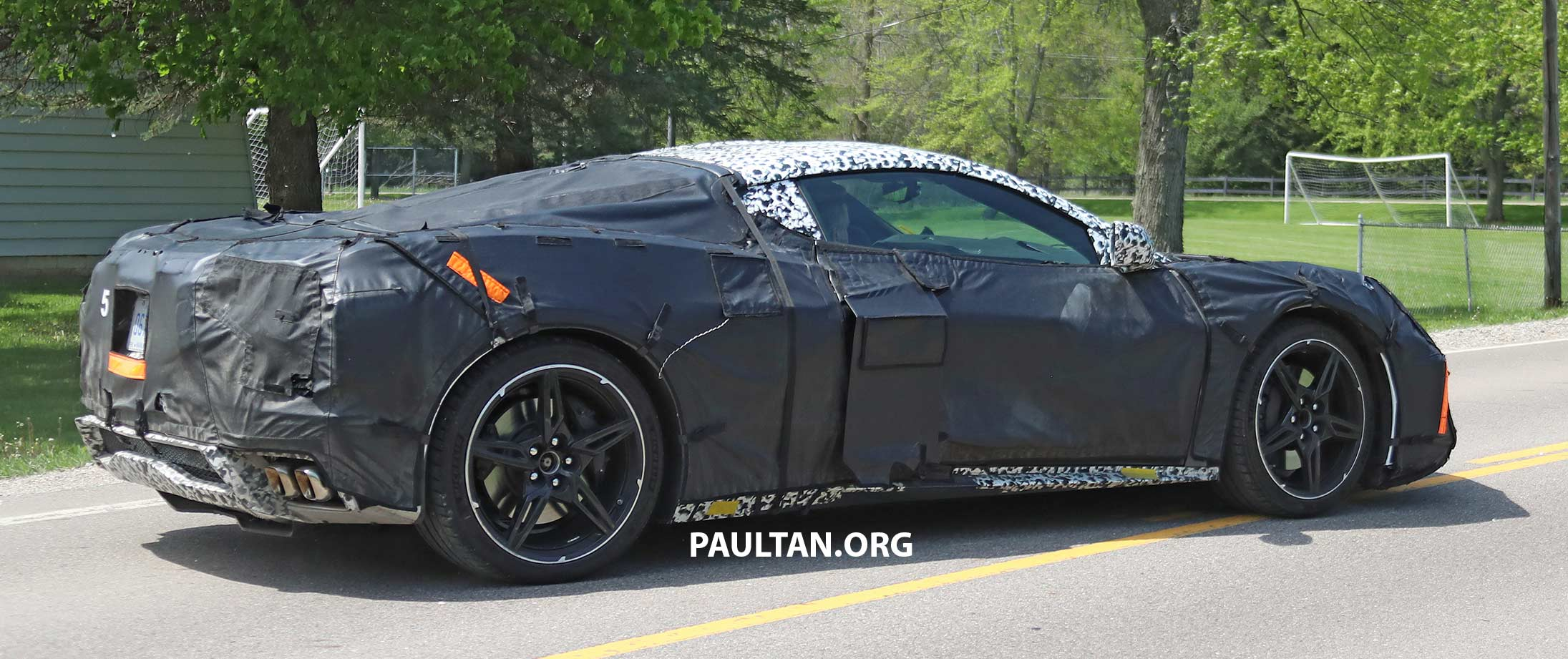 Mid Engine Corvette >> SPIED: Mid-engined Chevrolet Corvette spotted again Paul Tan - Image 819575