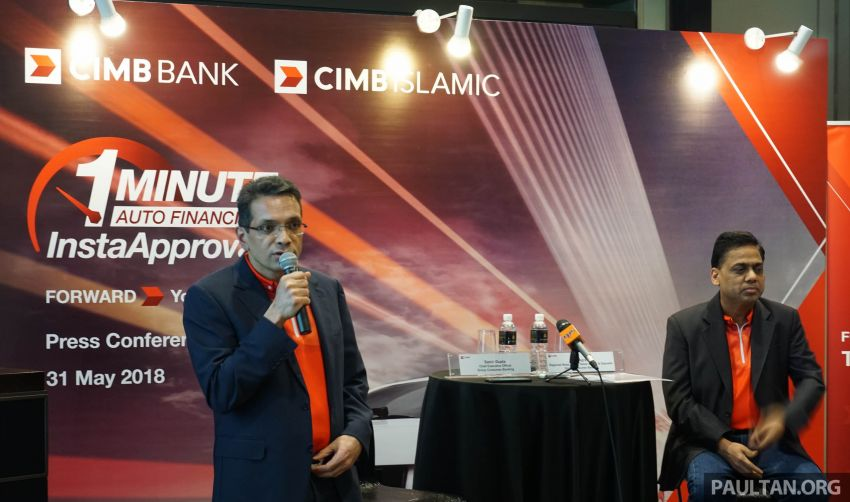 CIMB launches 1-Minute Auto Financing InstaApproval – fast loan approval, paperless and secure process Image #822742