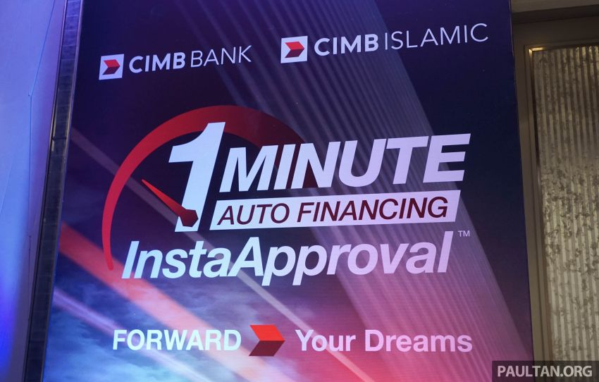 CIMB launches 1-Minute Auto Financing InstaApproval – fast loan approval, paperless and secure process Image #822743
