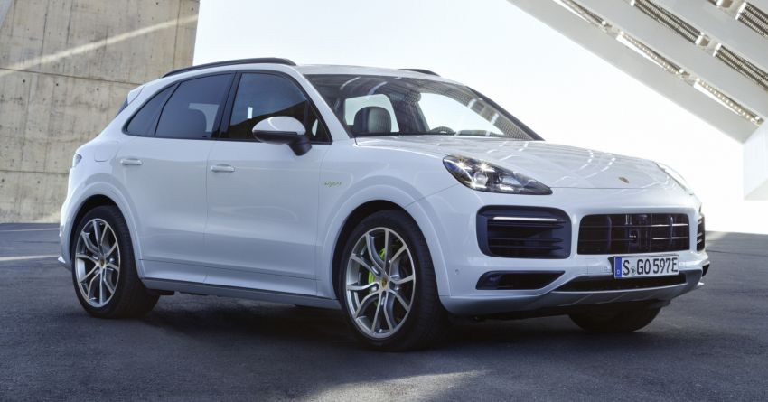 E3 Porsche Cayenne E-Hybrid revealed with 462 PS Image #814013
