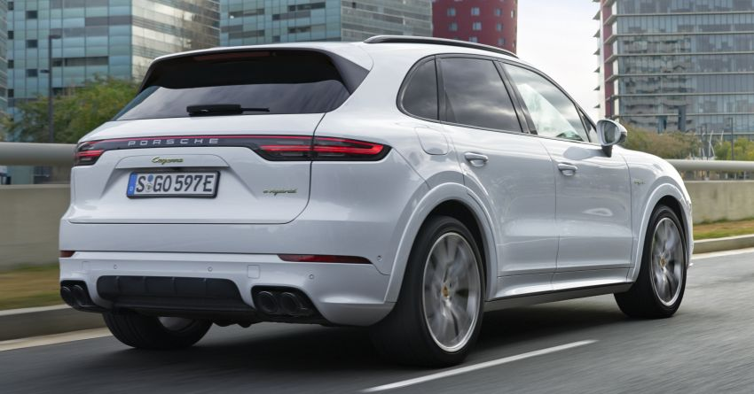 E3 Porsche Cayenne E-Hybrid revealed with 462 PS Image #814018